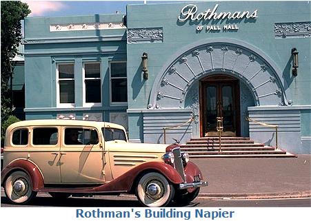 Napier, Art Deco City en Nouvelle-Zélande !! Napier10
