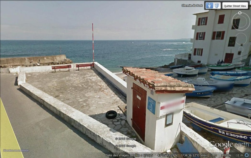 Lieux de tournage de vidéo-clip découverts avec Google Earth Port10