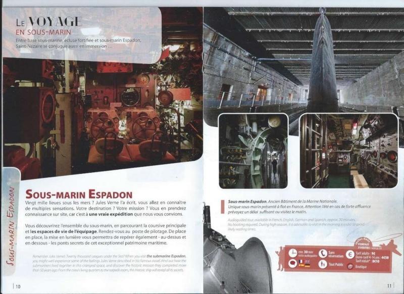 [ Les musées en rapport avec la Marine ] L'Espadon à St Nazaire 111