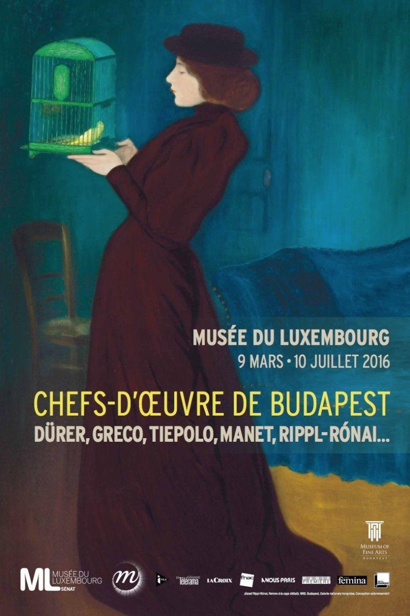 Exposition Chefs-d'œuvre de Budapest au Musée du Luxembourg Budape10