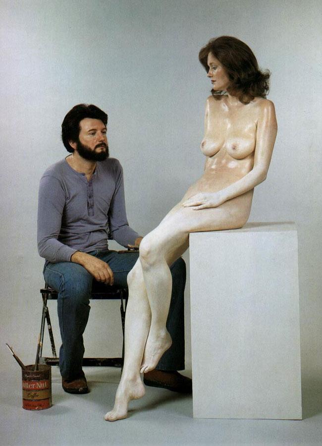 Sculptures hyperréalistes Deandr10