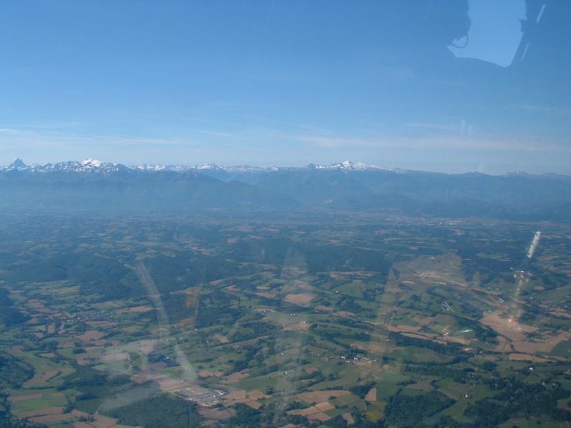 Dans les airs en hélicoptère Pau20027