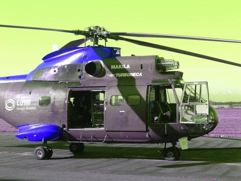 Dans les airs en hélicoptère Pau20030