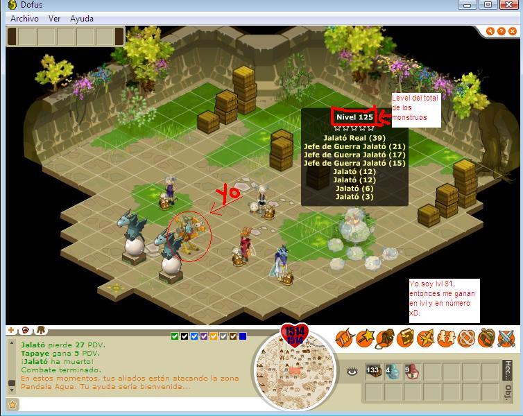 PVP battles at dofus Realja11