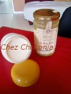 yaourt à la crème de calisson P22-0510