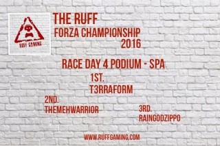 The Ruff Forza Championship 2016 - Race Day 4 Rd4_po10