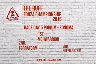The Ruff Forza Championship 2016 - Race Day 5 Rd5_po10