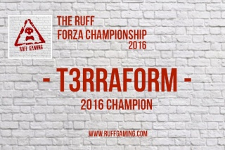 The Ruff Forza Championship 2016 - The Final Word Ruff_f14