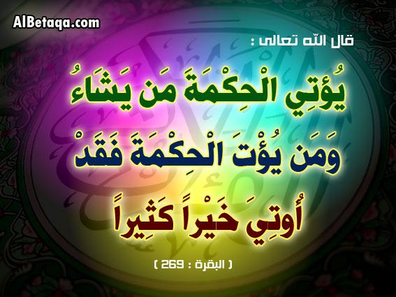 كل حكمة أفضل من التي قبلها فأقرأها كلها Talab-10