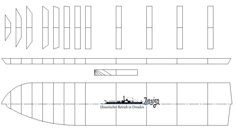 """MS """"Bastei II"""" PSO - Neukonstruktion in 1:200 112"""