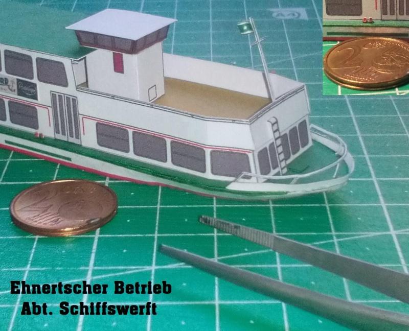 """MS """"Bastei II"""" PSO - Neukonstruktion in 1:200 1310"""