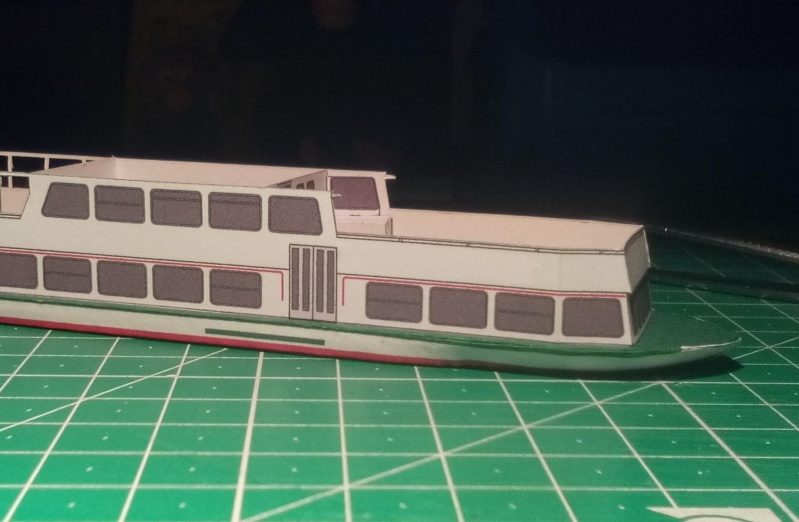 """MS """"Bastei II"""" PSO - Neukonstruktion in 1:200 810"""