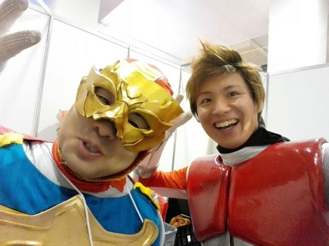 Projet live  Franco jap IGAGER par Japan Heros Project et ta - Page 2 Nicema12