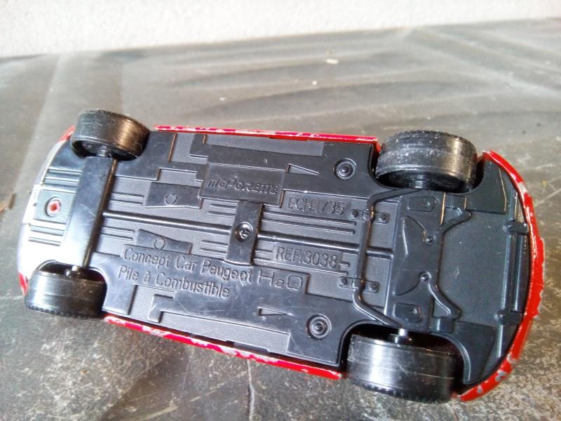 N°3038 Concept Car H2O Pile à hydrogène Pompier - Base peugeot 206 Img_2087