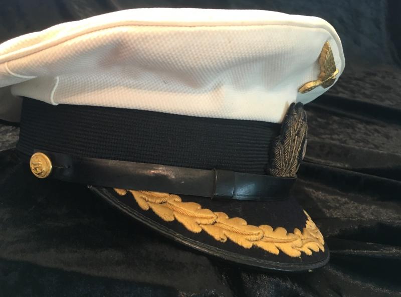 Casquette officier supérieur kriegsmarine blanche Image33