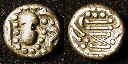 Drachme indo-sassanide du Saurasthra ... 017110