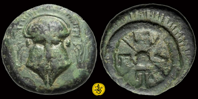 Bronze grec de Messembria en Thrace ... 175410