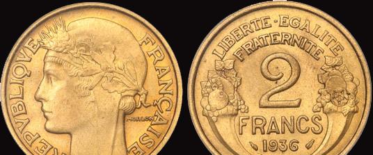 2 francs 1936 20f_mo10