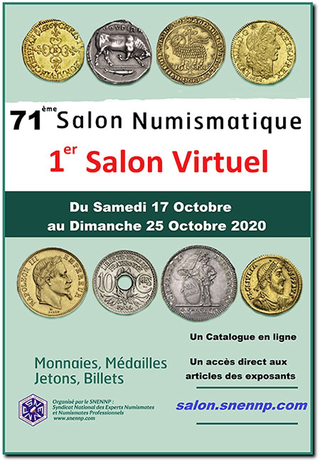 Paris Palais Brongniart Octobre 2020 - bourse virtuelle ... ! Affich10