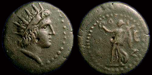 Bronze pour l'ile de Rhodes en Carie ... Bmc_3810