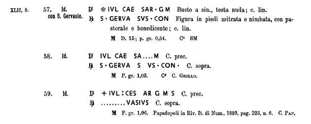 Monnaie 16eme :  Guglielmo Gonzaga, quarto con S. Evasio e busto Cni_4_10