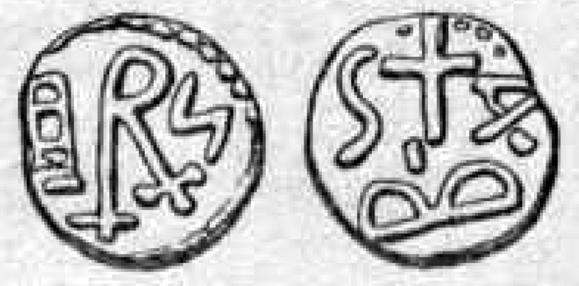 identification monnaie qui semble mérovingienne. Dzotai10