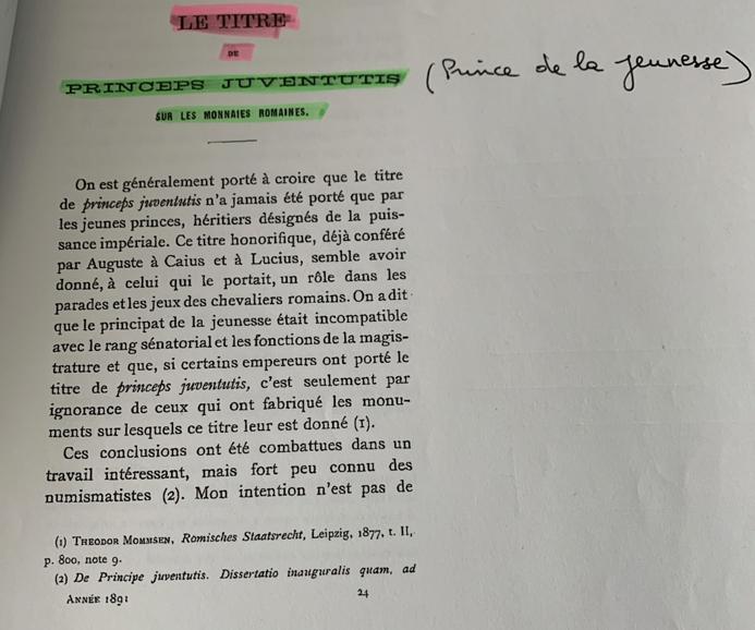 """Sesterce pour Sévère Alexandre """"PRINCIPI IVVENTVTIS"""" inconnu ! Image210"""