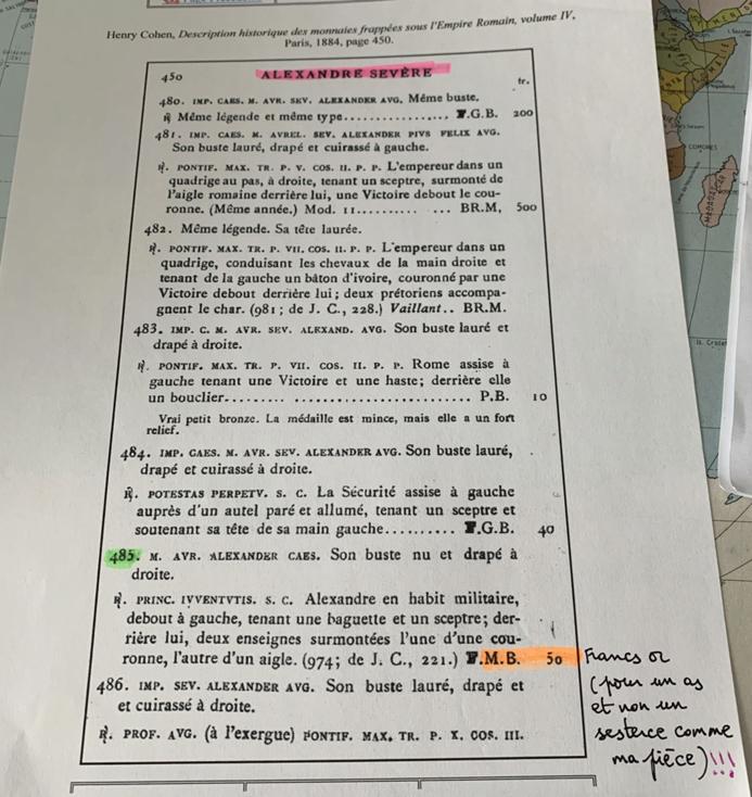"""Sesterce pour Sévère Alexandre """"PRINCIPI IVVENTVTIS"""" inconnu ! Image610"""