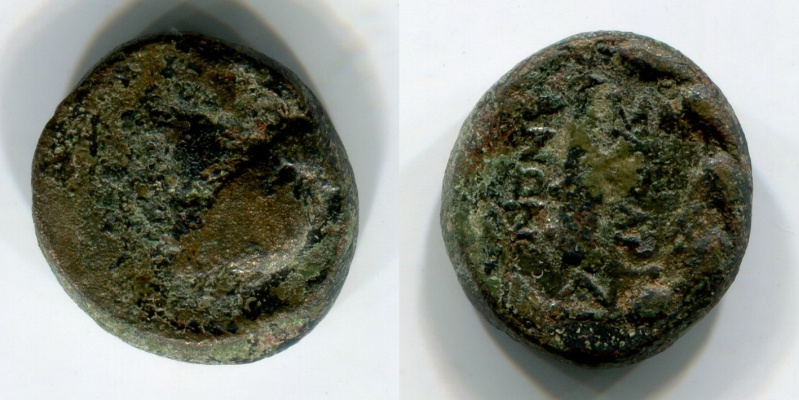 Bronze à identifier ... Sardes en Lydie. Monnai11