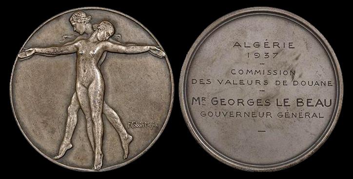 Aide identification / estimation médaille bronze publicitaire coca-cola Mzod_c10