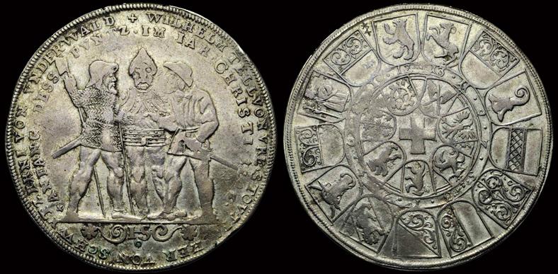 ID référence d'un BUNDESTHALER 250 ans de la Ligue éternelle 1546 Mzodai10