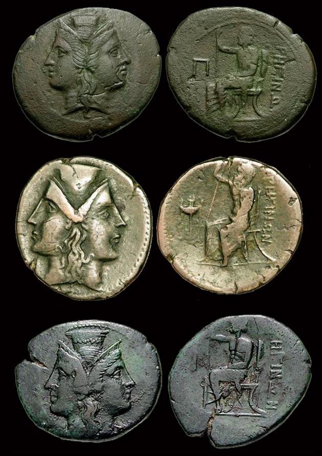 "Bronze ""Pentonkion"" de Rhégion dans le Bruttium ... Penton10"