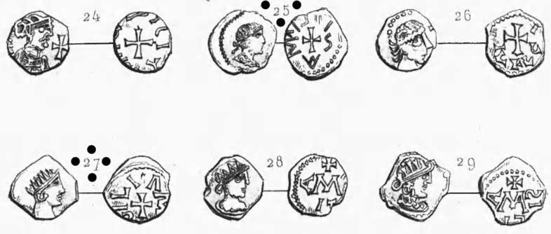 Monnaie romaine ... non mérovingienne Planch11