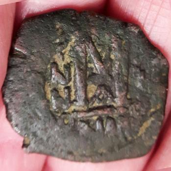 Follis byzantin de Nicomédie, sans doute pour Héraclius ... Revers10