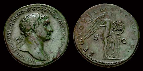 Sesterce de Trajan ... Sester11