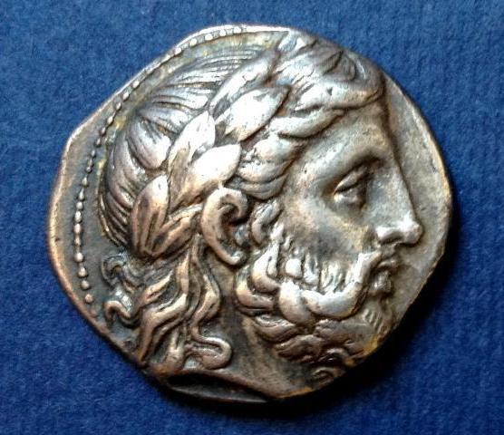 Tetradracma de Filipo II (póstumo). Ceca Anfípolis. 323-315 a.C. 112