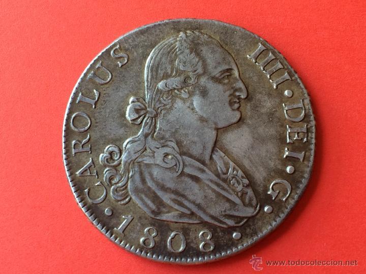 8 Reales 1808. Carlos IV. Madrid 113