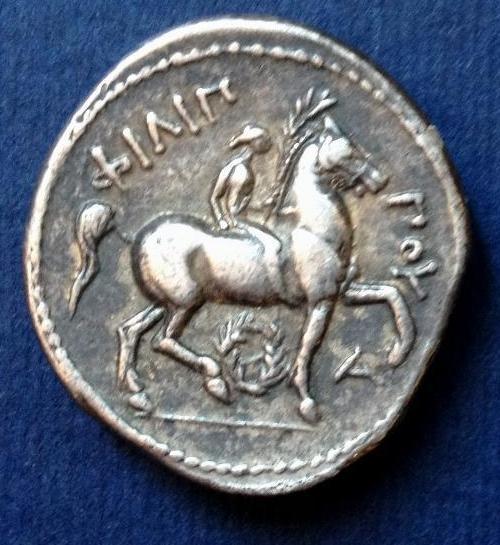 Tetradracma de Filipo II (póstumo). Ceca Anfípolis. 323-315 a.C. 212