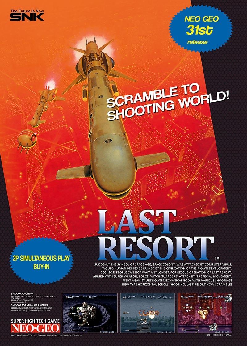 [WIP 99%] Posters NG : Last Resort & FF Spe Lastr10