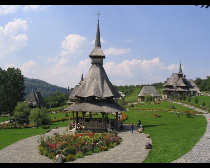 Mănăstirea Bârsana din judetul Maramureş. Clip_127