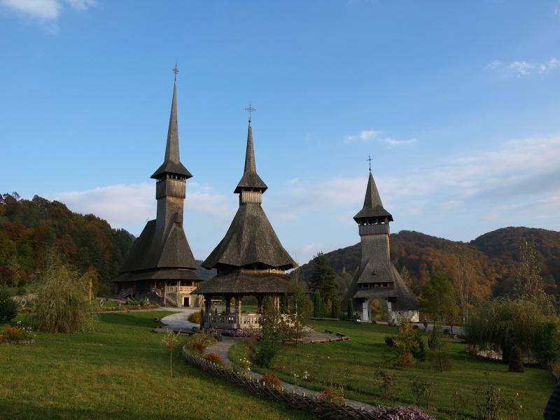 Mănăstirea Bârsana din judetul Maramureş. Clip_232