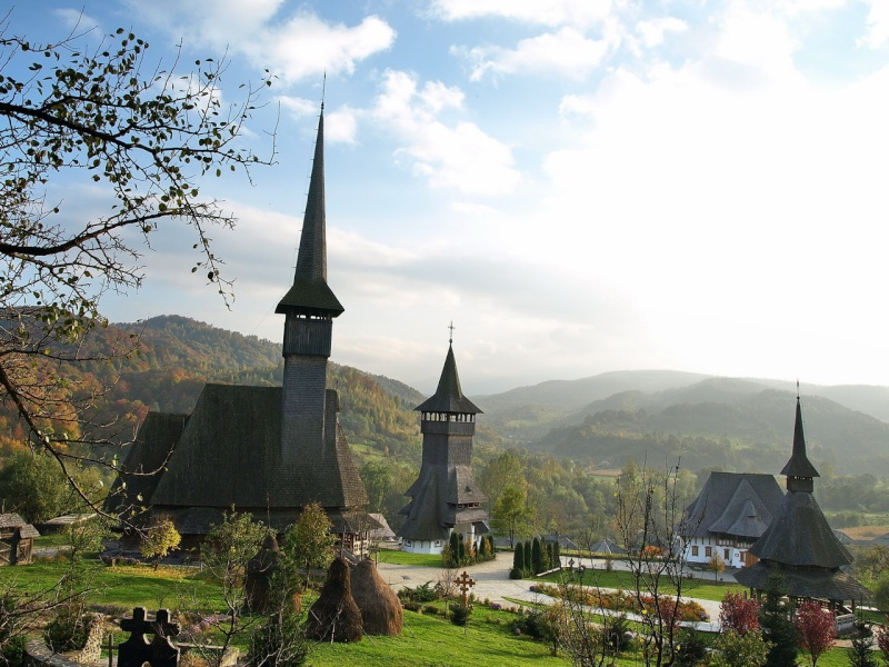 Mănăstirea Bârsana din judetul Maramureş. Clip_233
