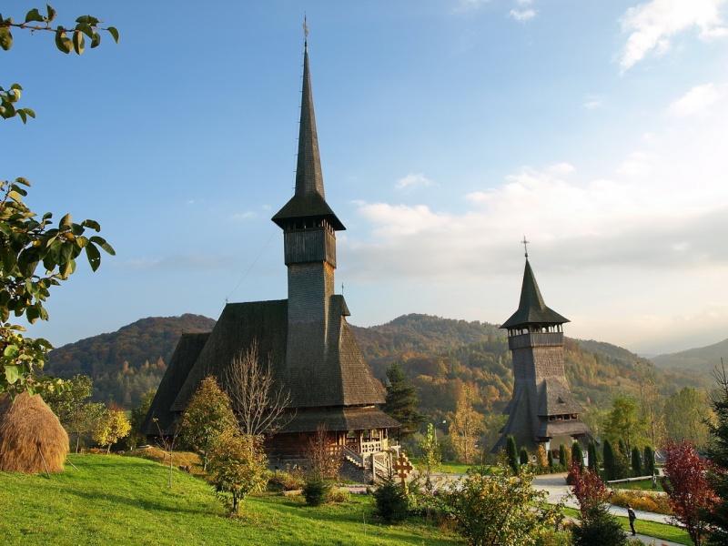 Mănăstirea Bârsana din judetul Maramureş. Clip_324