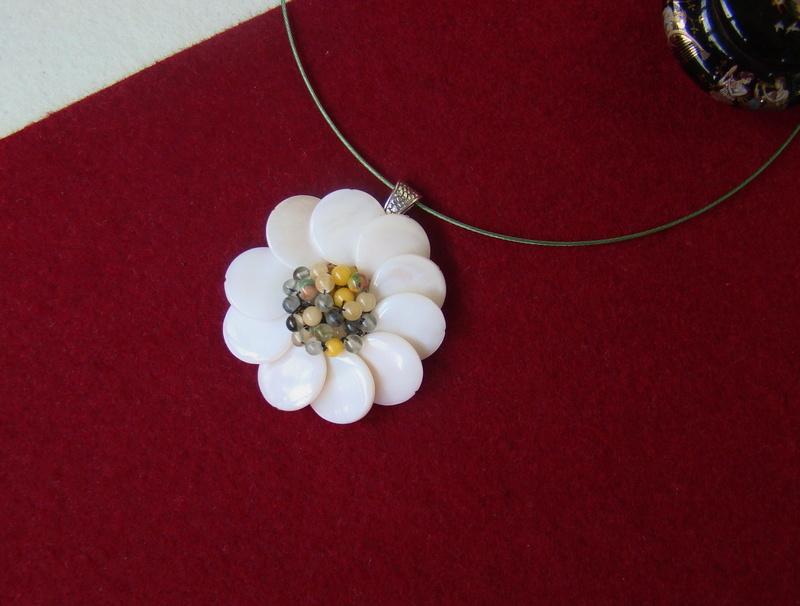 """""""Flori de piatră-Bijoux"""" albumul I-bijuterii artizanale marca Didina Sava - Pagina 4 Colie103"""