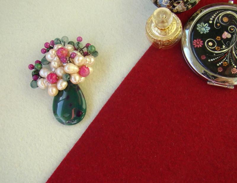 """""""Flori de piatră-Bijoux"""" albumul I-bijuterii artizanale marca Didina Sava - Pagina 4 Colie106"""