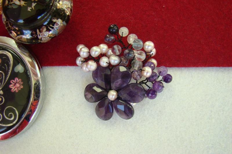 """""""Flori de piatră-Bijoux"""" albumul I-bijuterii artizanale marca Didina Sava - Pagina 4 Colie121"""
