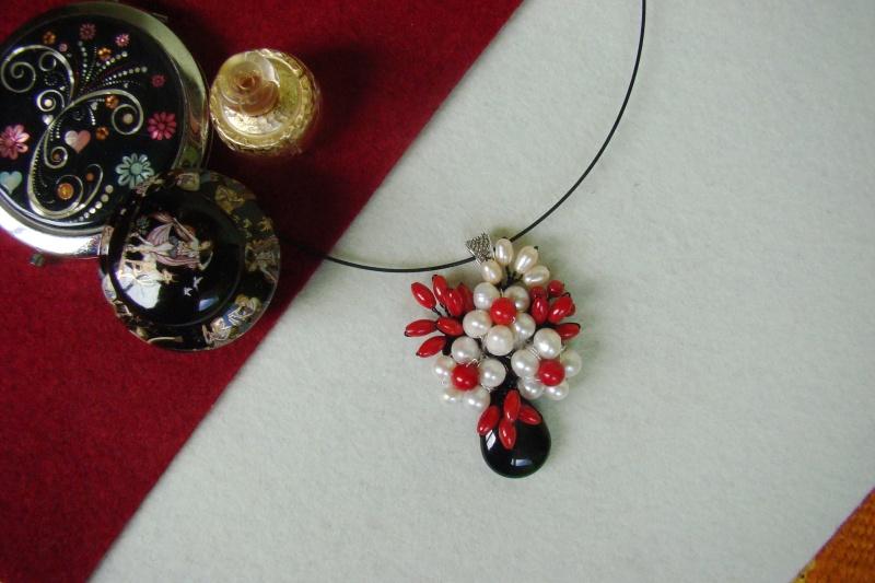 """""""Flori de piatră-Bijoux"""" albumul I-bijuterii artizanale marca Didina Sava - Pagina 4 Colier63"""