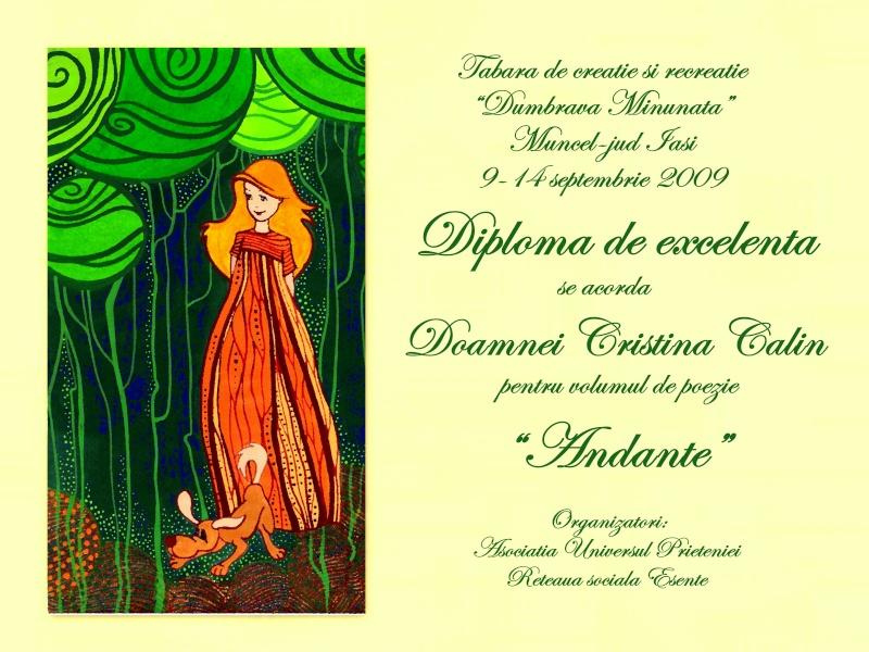 """Dumbrava Minunata""-tabara de la Muncel-Pascani 9-14 septembrie 2009 Diplom10"