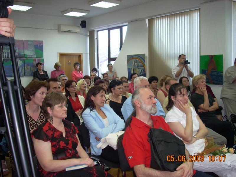 05 iunie 2009-Lansarea celui de al treilea volum din ciclul anotimpurilor-Universul Prieteniei-Vara Lansar13