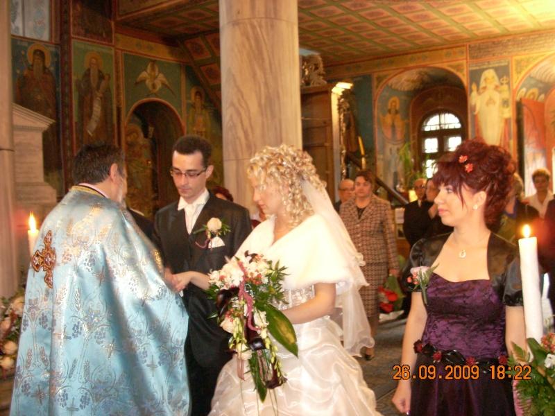 Cununia religioasa a Andreei cu Remus-copiii Rodicăi Rodean Pictur60